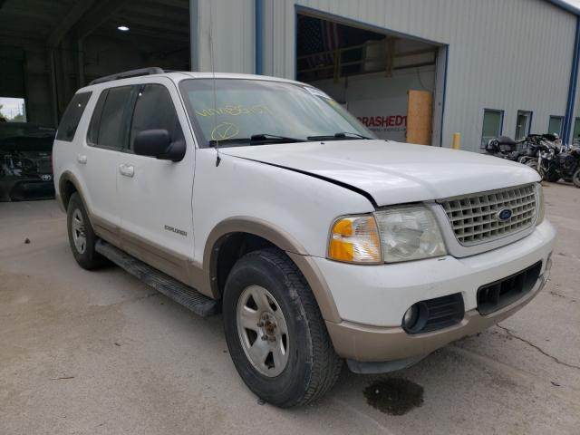 Salvage cars for sale from Copart Kansas City, KS: 2002 Ford Explorer E
