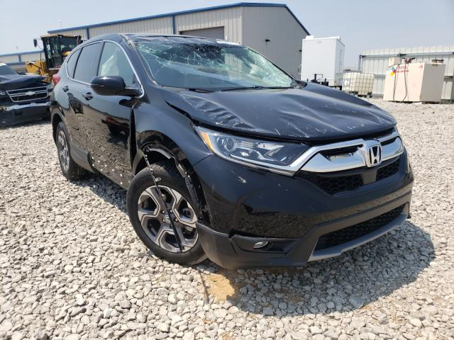 Salvage cars for sale from Copart Earlington, KY: 2019 Honda CR-V EXL