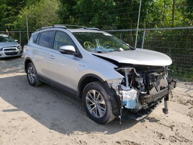 Salvage cars for sale from Copart Northfield, OH: 2016 Toyota Rav4 HV XL