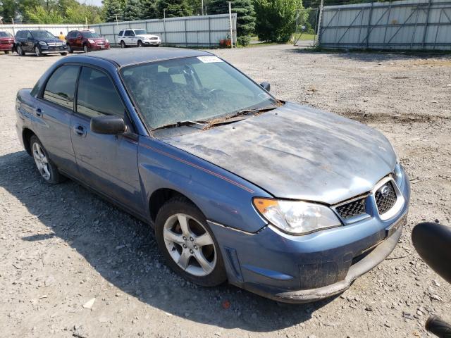 Salvage cars for sale from Copart Albany, NY: 2007 Subaru Impreza 2