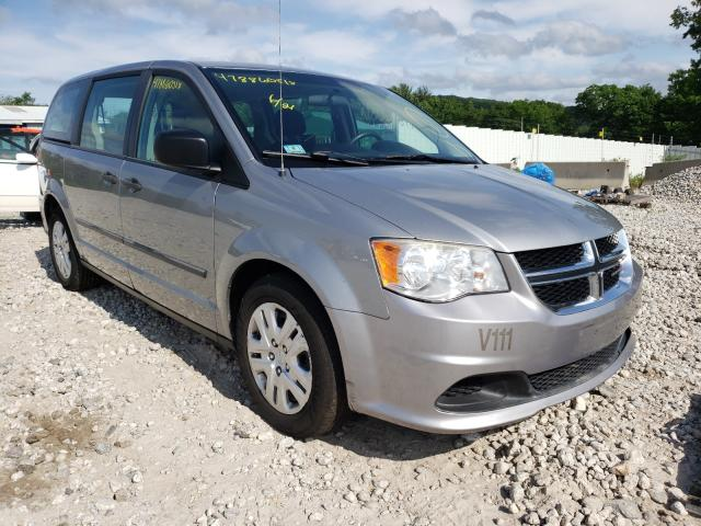 Salvage cars for sale from Copart West Warren, MA: 2014 Dodge Grand Caravan