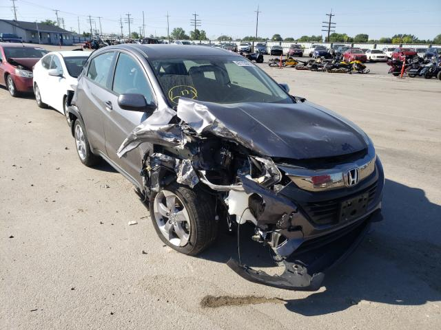Salvage cars for sale from Copart Nampa, ID: 2019 Honda HR-V LX
