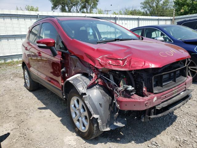 Salvage cars for sale from Copart Albany, NY: 2020 Ford Ecosport S