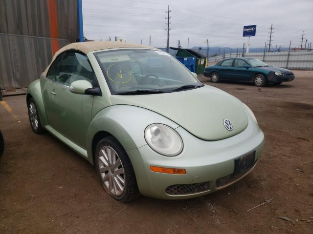 Salvage cars for sale from Copart Colorado Springs, CO: 2008 Volkswagen New Beetle