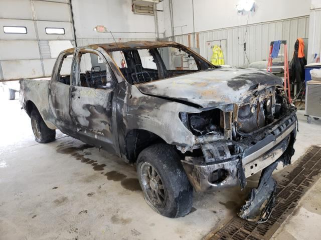Salvage cars for sale from Copart Columbia, MO: 2010 Toyota Tundra DOU