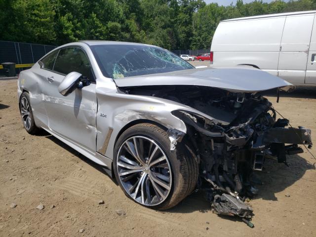 Vehiculos salvage en venta de Copart Waldorf, MD: 2017 Infiniti Q60 Premium
