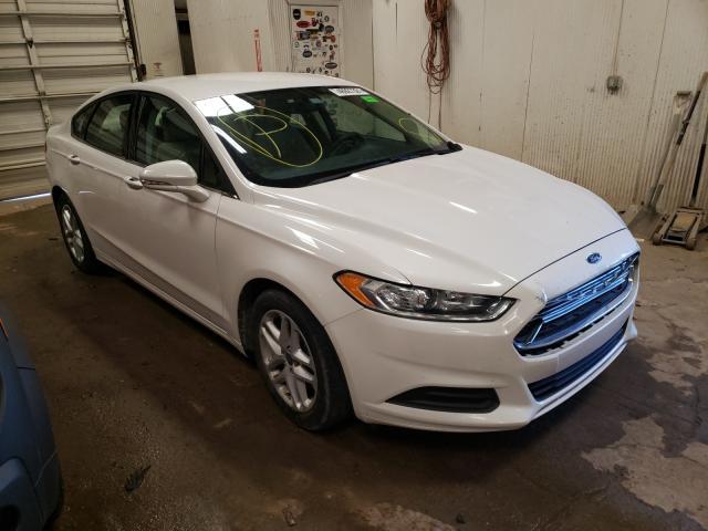 Vehiculos salvage en venta de Copart Casper, WY: 2016 Ford Fusion SE