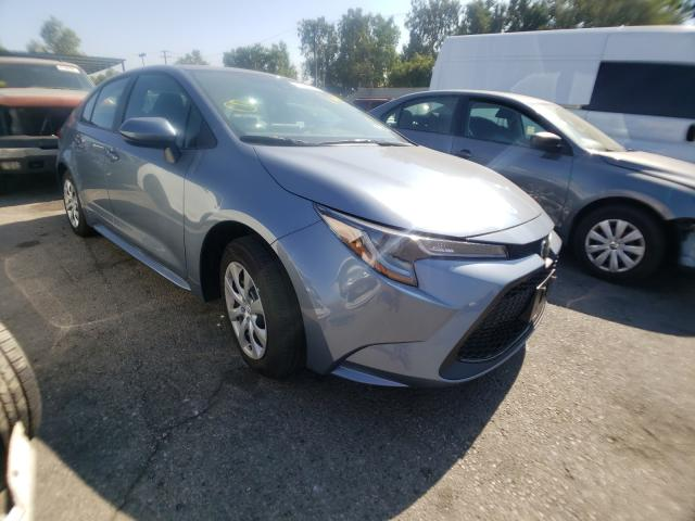 Salvage cars for sale from Copart Colton, CA: 2021 Toyota Corolla LE