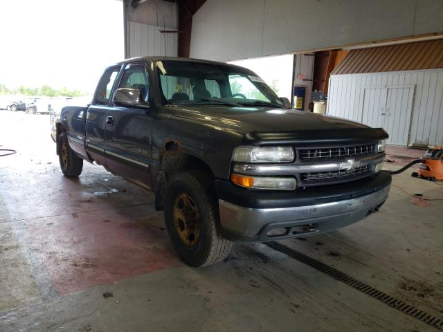 Salvage cars for sale from Copart Angola, NY: 2002 Chevrolet Silverado