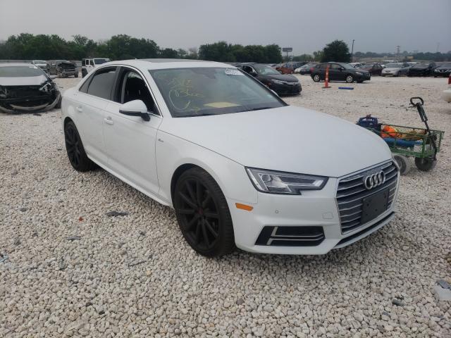 2018 Audi A4 Premium en venta en New Braunfels, TX