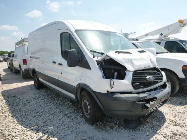 Salvage trucks for sale at Grand Prairie, TX auction: 2015 Ford Transit T