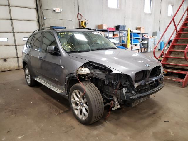 Salvage cars for sale from Copart Blaine, MN: 2011 BMW X5 XDRIVE3