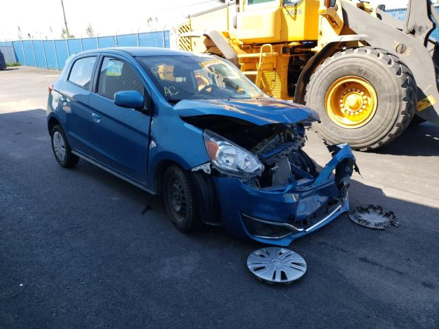 Salvage cars for sale from Copart Moncton, NB: 2019 Mitsubishi Mirage ES