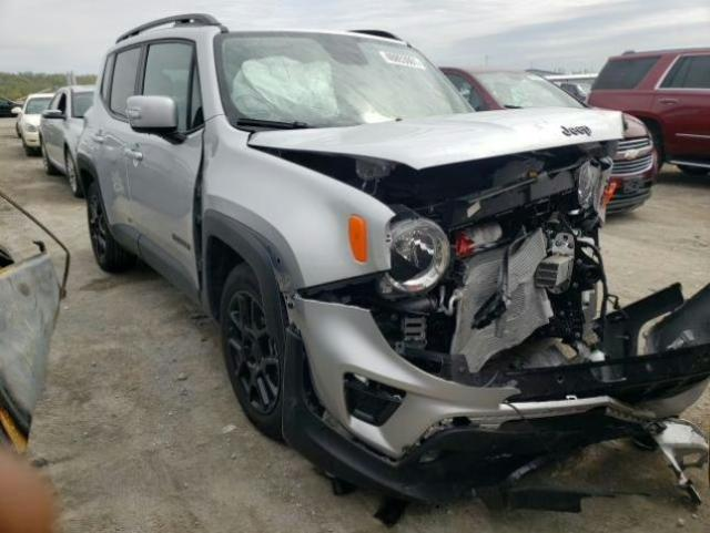 Salvage cars for sale from Copart Alorton, IL: 2020 Jeep Renegade L