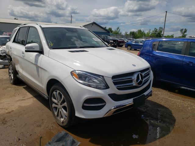 Salvage cars for sale from Copart Pekin, IL: 2017 Mercedes-Benz GLE 350 4M