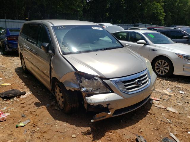 Vehiculos salvage en venta de Copart Austell, GA: 2008 Honda Odyssey LX