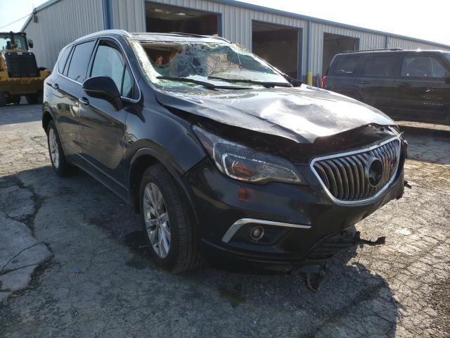 Salvage cars for sale from Copart Chambersburg, PA: 2017 Buick Envision E