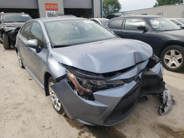 Salvage cars for sale from Copart Duryea, PA: 2020 Toyota Corolla LE