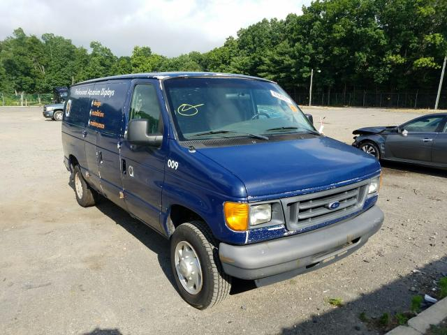 Salvage cars for sale from Copart Glassboro, NJ: 2007 Ford Econoline