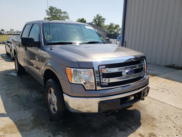 Salvage trucks for sale at Sikeston, MO auction: 2013 Ford F150 Super