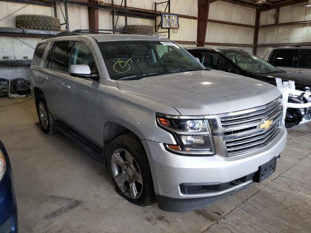 Salvage cars for sale from Copart Eldridge, IA: 2015 Chevrolet Tahoe K150