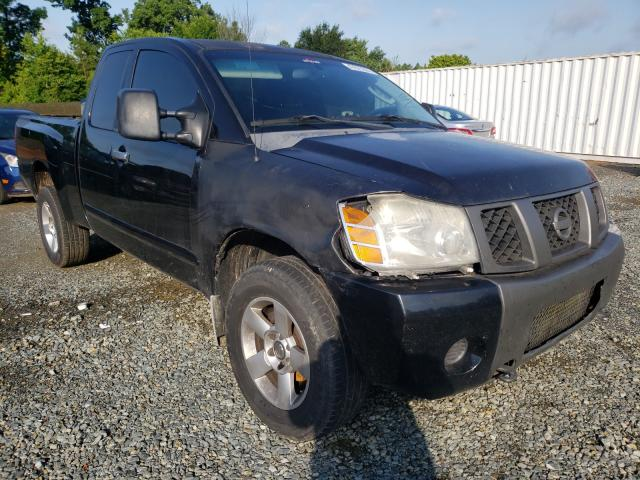 Salvage cars for sale from Copart Concord, NC: 2006 Nissan Titan XE