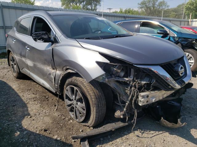 Salvage cars for sale from Copart Albany, NY: 2018 Nissan Murano S