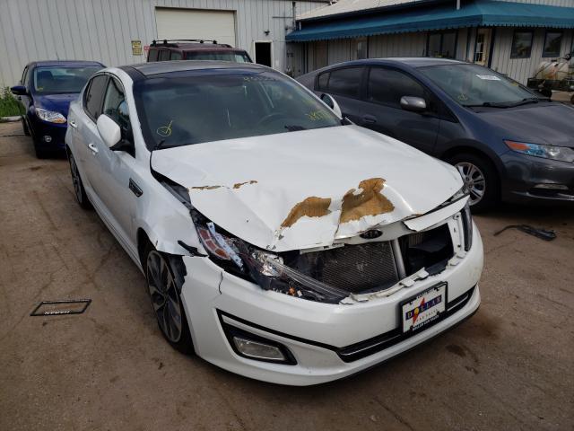 Salvage cars for sale from Copart Pekin, IL: 2015 KIA Optima SX