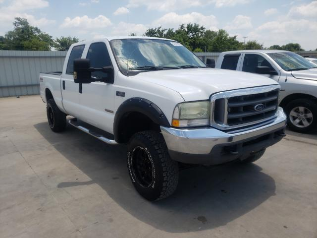 Salvage cars for sale from Copart Wilmer, TX: 2004 Ford F250 Super