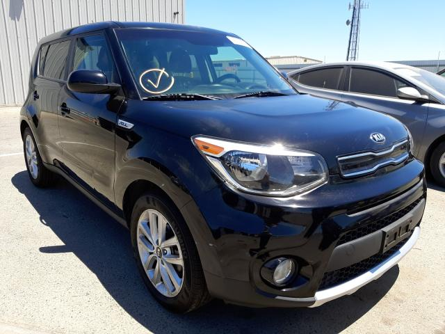 Salvage cars for sale from Copart Fresno, CA: 2018 KIA Soul +