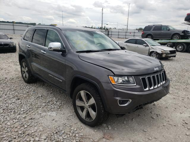 Salvage cars for sale from Copart Alorton, IL: 2016 Jeep Grand Cherokee