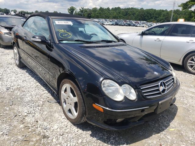 2005 Mercedes-Benz CLK 500 en venta en Loganville, GA