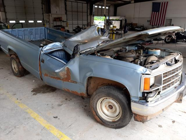Salvage trucks for sale at Montgomery, AL auction: 1990 Chevrolet GMT-400 C1