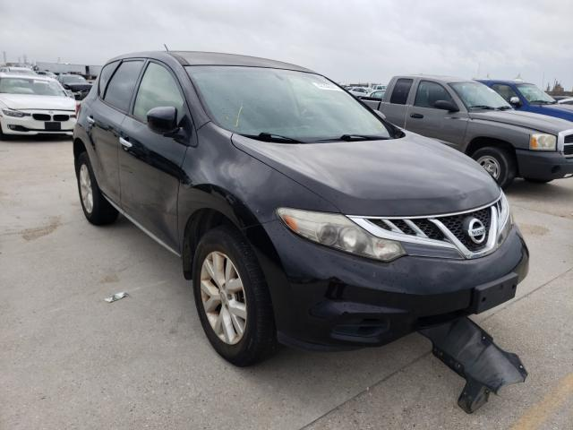 Salvage cars for sale at New Orleans, LA auction: 2014 Nissan Murano S