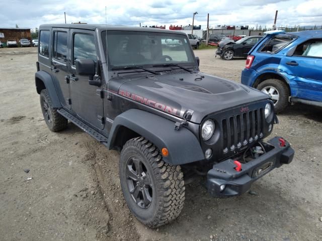 Salvage cars for sale from Copart Anchorage, AK: 2018 Jeep Rubicon