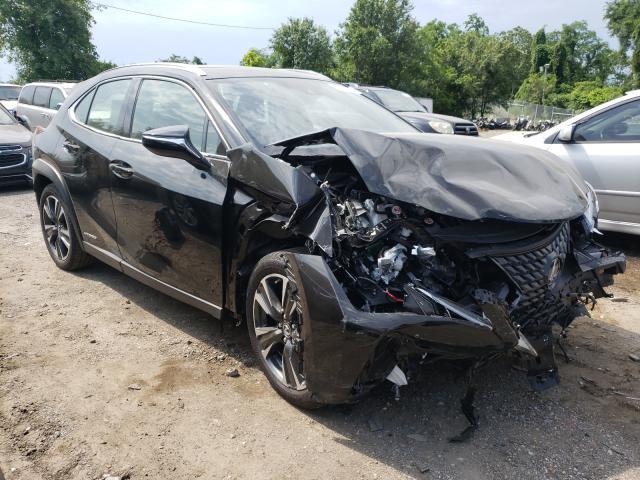 Lexus UX 250H salvage cars for sale: 2021 Lexus UX 250H