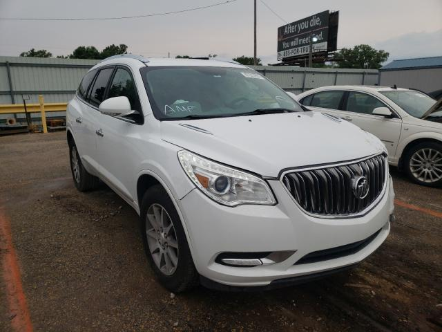 Salvage cars for sale from Copart Wichita, KS: 2017 Buick Enclave