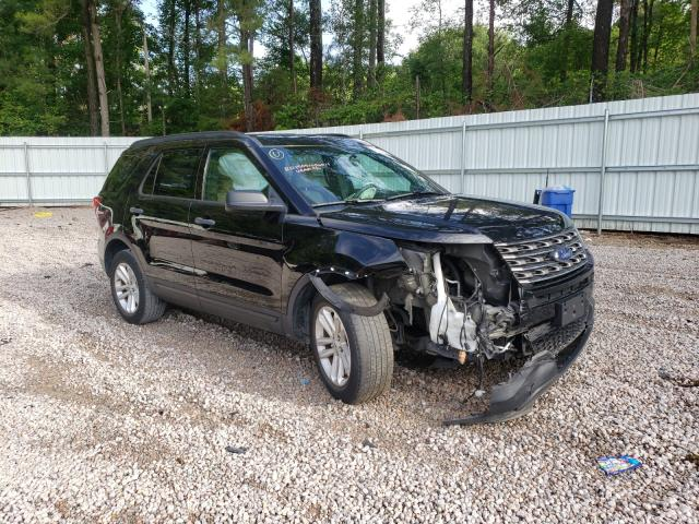 Salvage cars for sale from Copart Knightdale, NC: 2017 Ford Explorer