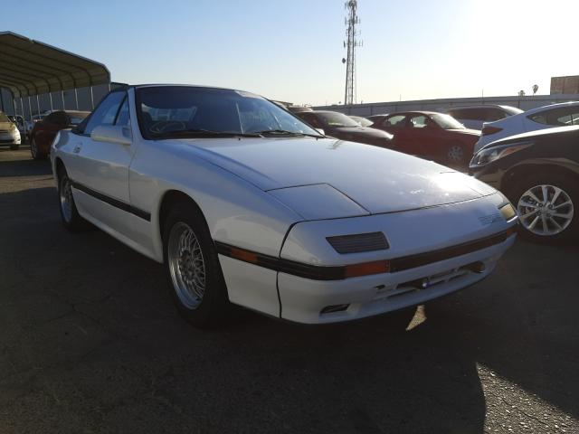 Salvage cars for sale from Copart Fresno, CA: 1988 Mazda RX7