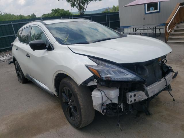 Salvage cars for sale from Copart Duryea, PA: 2019 Nissan Murano S