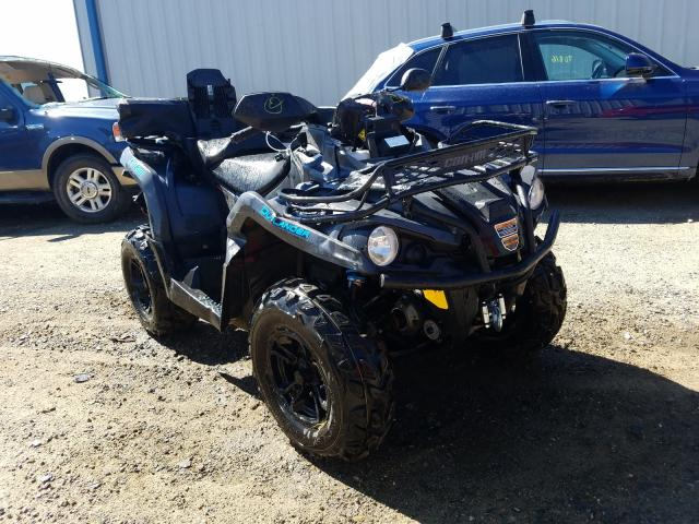 Salvage cars for sale from Copart Helena, MT: 2020 Can-Am Outlander