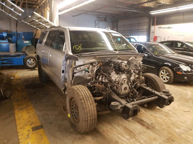 Salvage cars for sale from Copart Wheeling, IL: 2015 Chevrolet Suburban K