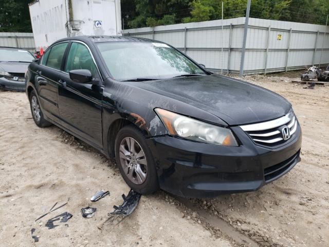 Salvage cars for sale from Copart Midway, FL: 2012 Honda Accord LXP