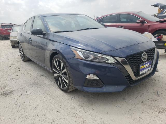 Salvage cars for sale from Copart San Antonio, TX: 2020 Nissan Altima SR