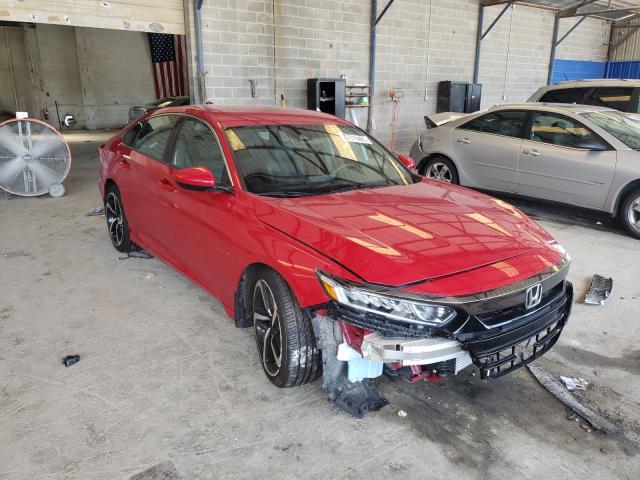 Honda Vehiculos salvage en venta: 2018 Honda Accord Sport