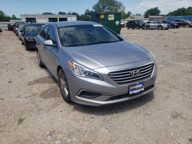 Salvage cars for sale at Florence, MS auction: 2016 Hyundai Sonata SE