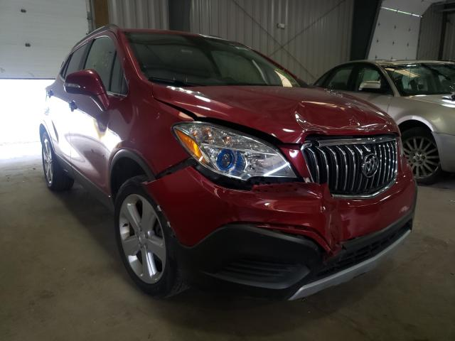 Salvage cars for sale from Copart West Mifflin, PA: 2015 Buick Encore