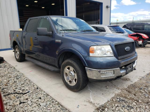 Salvage cars for sale from Copart Appleton, WI: 2004 Ford F150 Super
