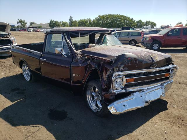 Salvage cars for sale from Copart Bakersfield, CA: 1970 Chevrolet C10