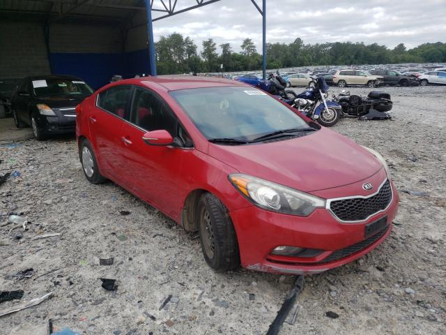 Salvage cars for sale from Copart Cartersville, GA: 2014 KIA Forte EX